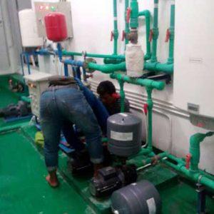 Service pompa air jet pump macet atau tidak bisa nyedot air