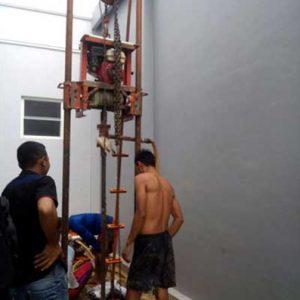 Pengeboran artetis 50 sampai 70 mtr mengatasi air keruh dan kuning ataupun bau